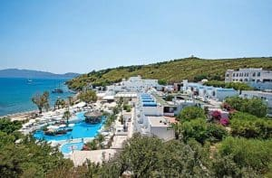 Salmakis Beach Resort en Spa in Bodrum, Turkije
