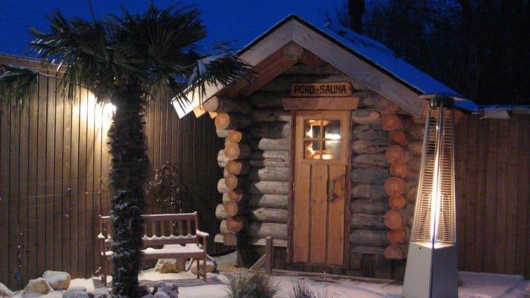 Sauna van Hotel Dolores in Hollum op Ameland