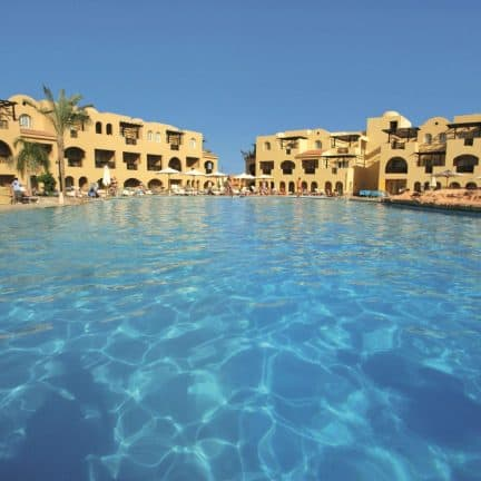 Zwembad van Stella di Mare Garden Resort in Makadi Bay, Egypte