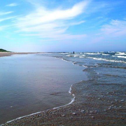 Strand van Hotel Bos en Duinzicht in Nes, Ameland