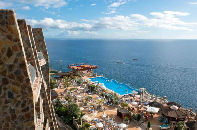 Uitzicht van Gloria Palace Amadores in Puerto Rico, Gran Canaria