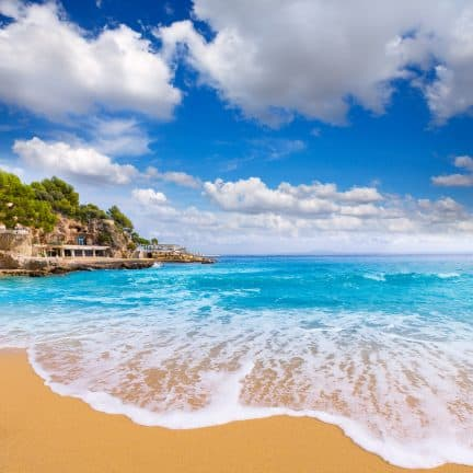 uitzicht zee playa illetas mallorca