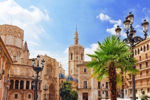 Kathedraal in Valencia, Spanje
