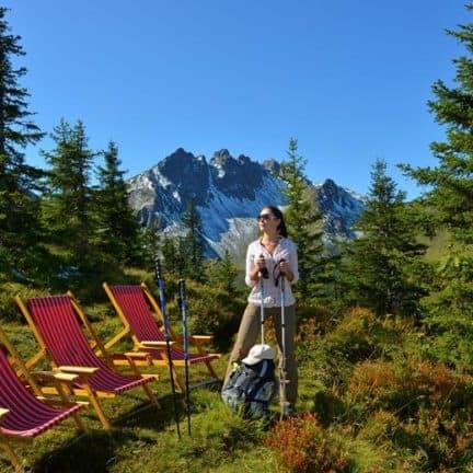 Wandelen van Gerlos Alpine Estate in Gerlos, Oostenrijk