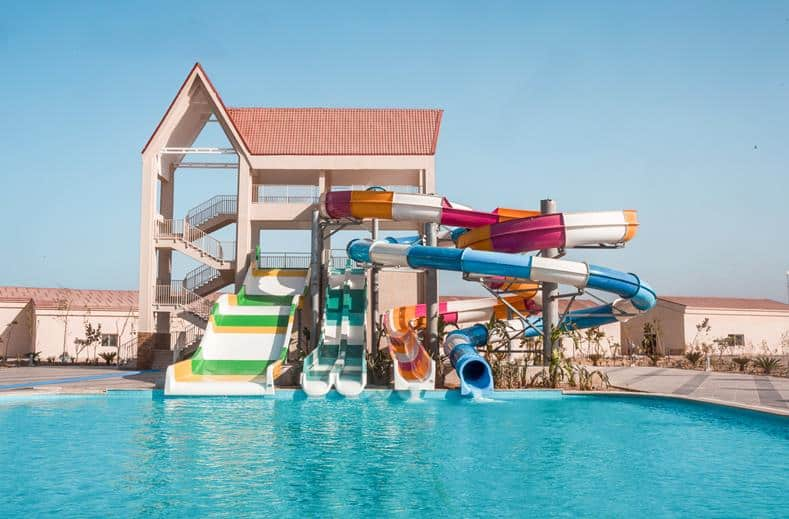 Waterpark van Albatros Sea World Marsa Alam in Marsa Alam, Egypte