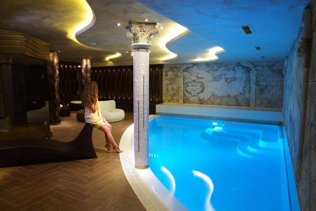 Wellness van Diamant Residence en Spa in Sunny Beach, Bulgarije