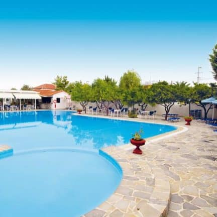 Zwembad van Konaki in Ligia, Lefkas