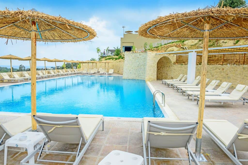Zwembad van Rimondi Grand Resort & Spa in Stavromenos, Kreta