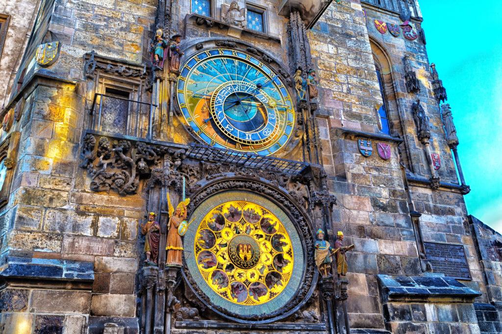 Astronomische Klok in Praag, Tsjechië