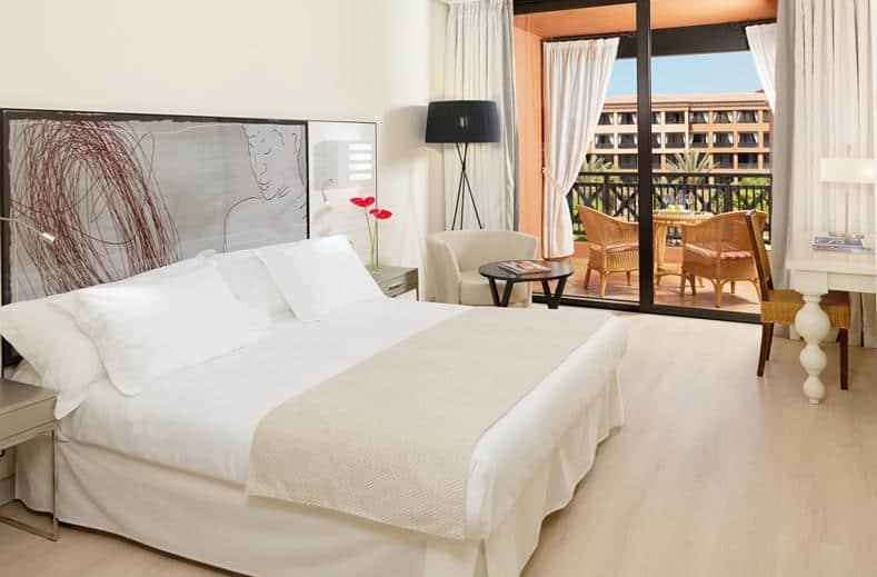 Hotelkamer van H10 Costa Adeje Palace in Costa Adeje, Tenerife