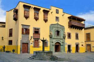 """Huis van Colombus """"Casa de Colon"""" in Las Palmas, Gran Canaria"""