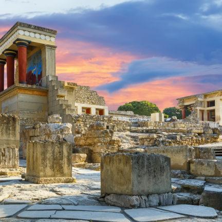 Paleis van Knossos op Kreta, Griekenland