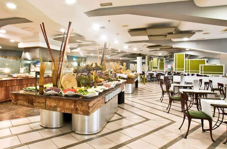 Restaurant van Dunas Suites en Villas in Maspalomas, Gran Canaria