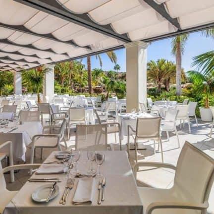 Restaurant van H10 Costa Adeje Palace in Costa Adeje, Tenerife