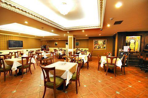 Restaurant van hotel Golden Crown in Istanbul, Turkije