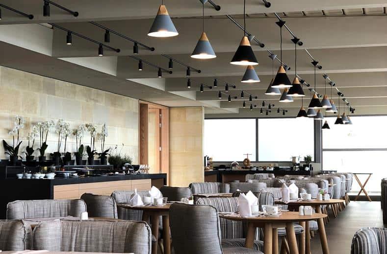 Restaurant van Ikones Suites in Rethymnon, Kreta