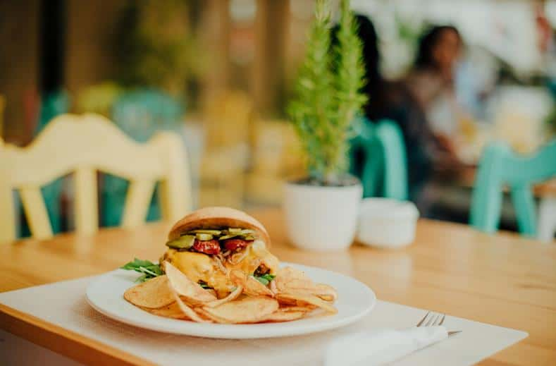 Snack van Hotel Puchet in San Antonio, Ibiza
