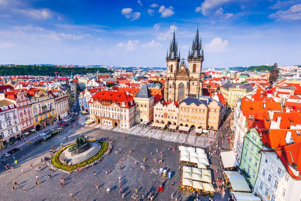 Týnkerk in Tsjechië, Praag
