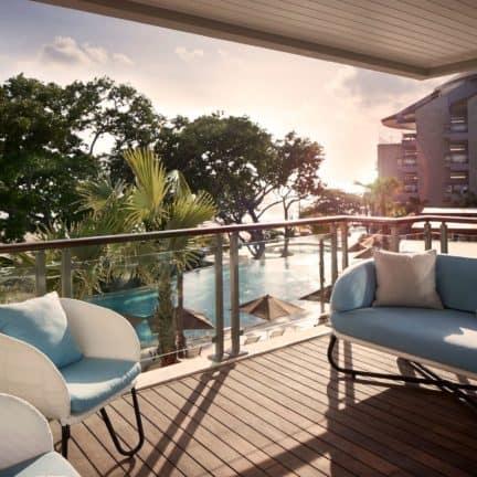 Zwembad van Double-Six Luxury Hotel in Seminyak, Bali