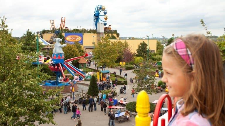 Attracties van Wunderland Kalkar