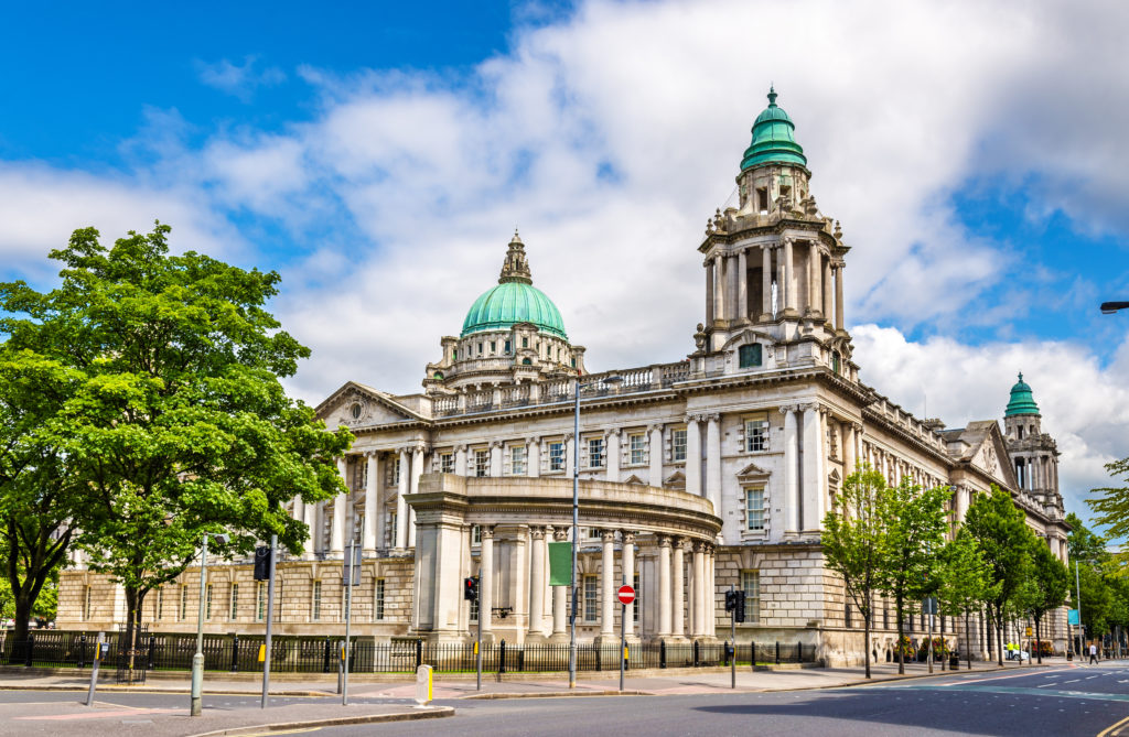 Belfast City Hall in Belfast, Noord-Ierland