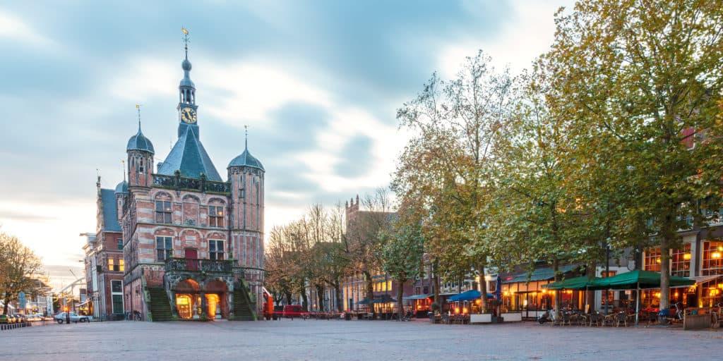 Centrum van Deventer in Overijssel