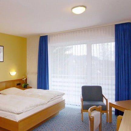 Hotelkamer van Familiehotel Hesborner Kuckuck in Hallenberg, Duitsland