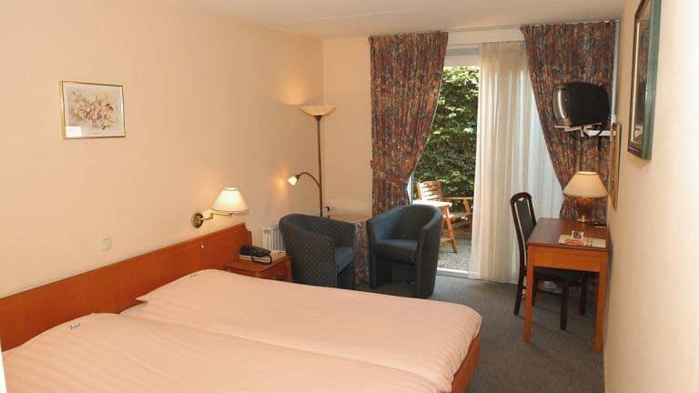 Hotelkamer van Hotel Karsten in Norg, Drenthe