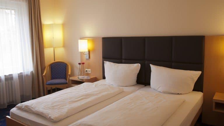 Hotelkamer van Hotel Oelen Bad Bentheim in Bad Bentheim, Duitsland