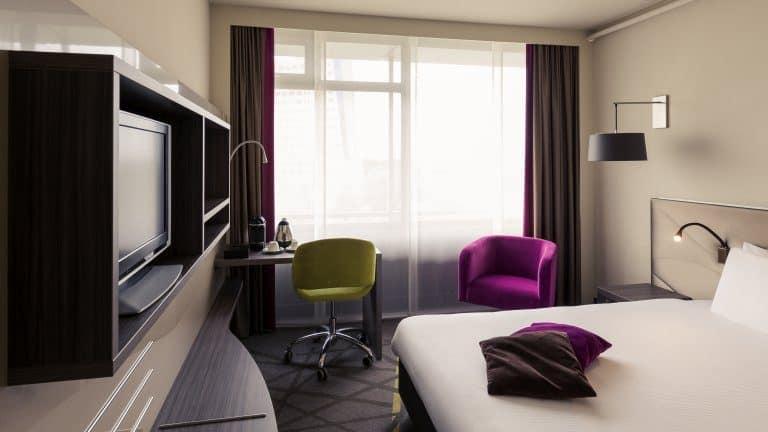 Hotelkamer van Mercure Hotel Groningen Martiniplaza in Groningen, Groningen