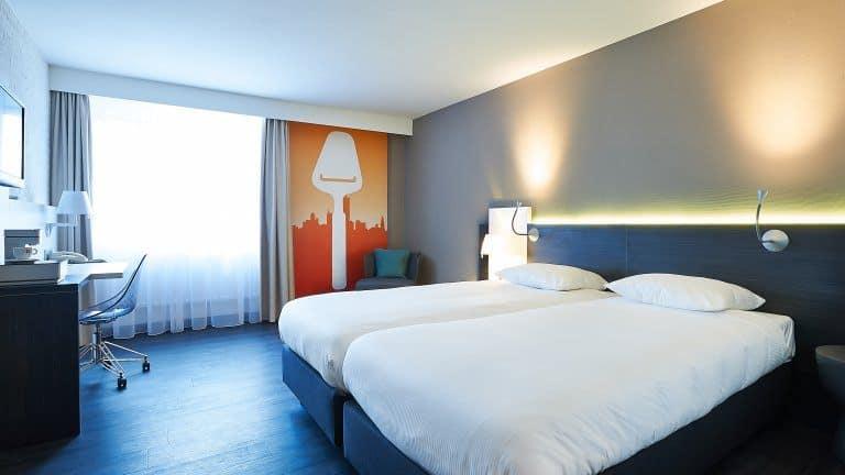 Hotelkamer van Postillion Hotel Dordrecht in Dordrecht, Zuid-Holland