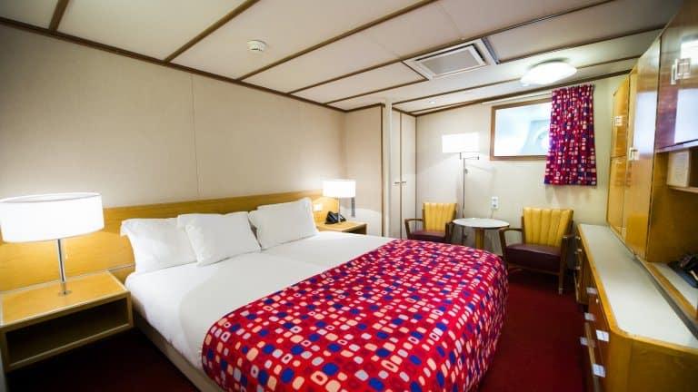 Hotelkamer van ss Rotterdam in Rotterdam, Zuid-Holland