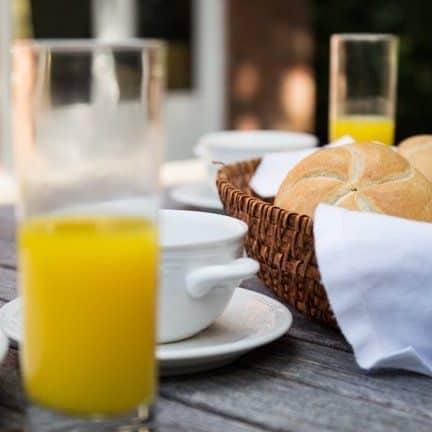 Ontbijt van Hotel Tante Sien in Vasse, Overijssel