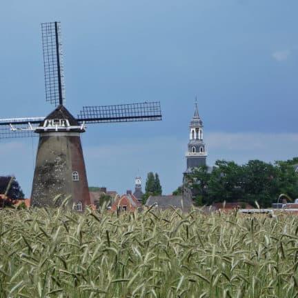 Oude molen bij Ootmarsum, Overijssel