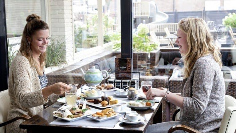 Restaurant van Abdij de Westerburcht in Westerbork, Drenthe