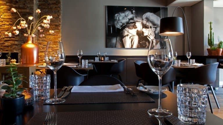 Restaurant van Het Hogerhuys in Noordwijk aan Zee, Zuid-Holland
