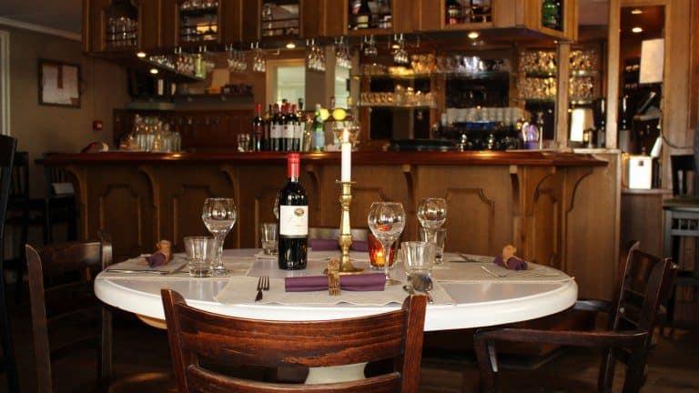 Restaurant van Hotel Boschlust in Oudemirdum, Friesland