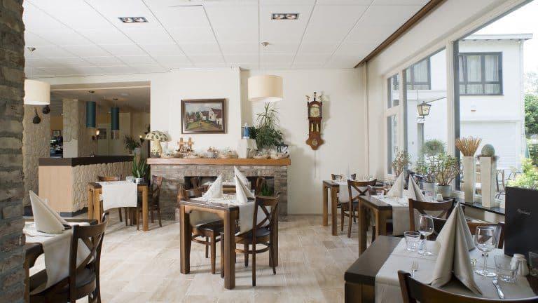 Restaurant van Hotel Restaurant Op De Beek in Schin op Geul, Limburg