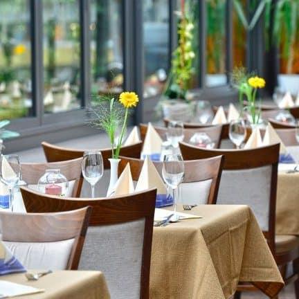 Restaurant van Hotel zur Post Altenahr in Altenahr, Duitsland