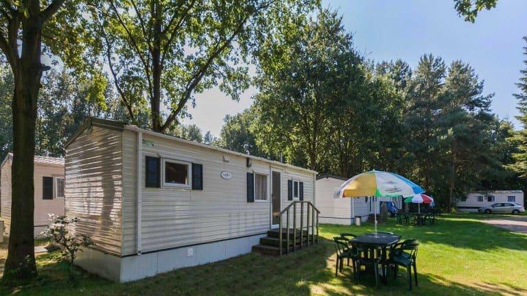 Stacaravan van Oostappen Vakantiepark De Berckt in Baarlo, Limburg
