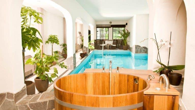 Wellness en zwembad van Hotel Lellmann in Löf, Duitsland