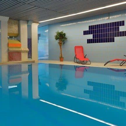 Zwembad van Hotel zur Post Altenahr in Altenahr, Duitsland
