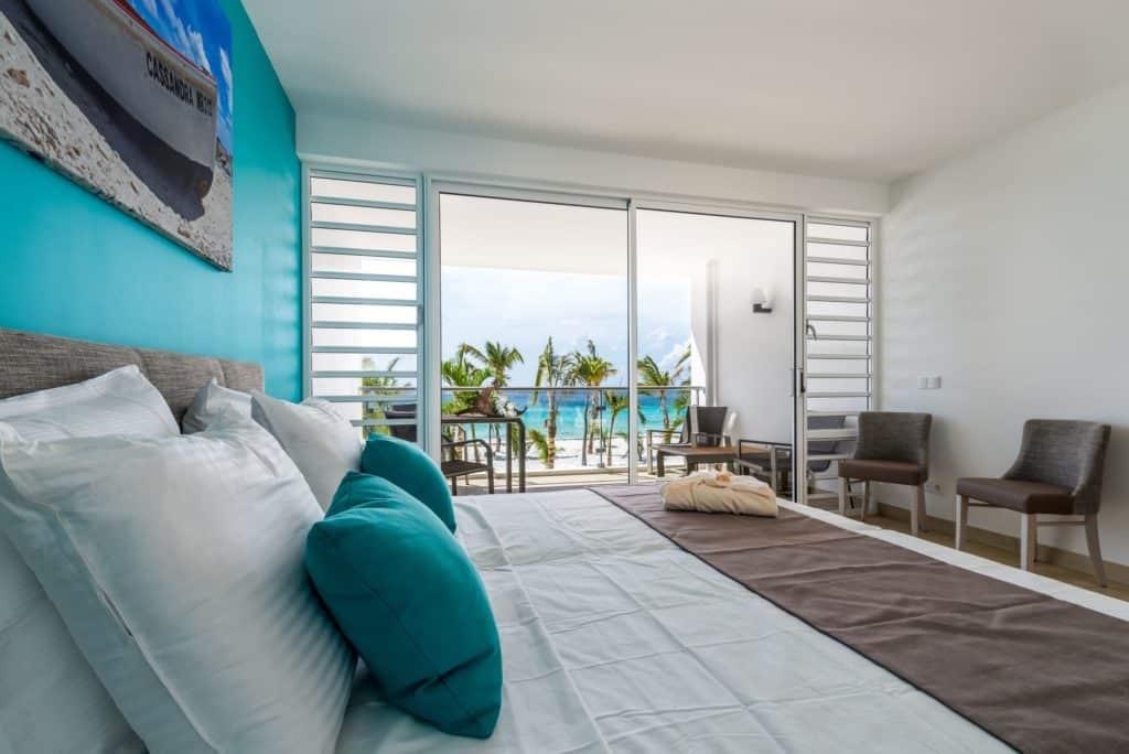 Appartement van Delfins Beach Resort Bonaire in Kralendijk, Bonaire