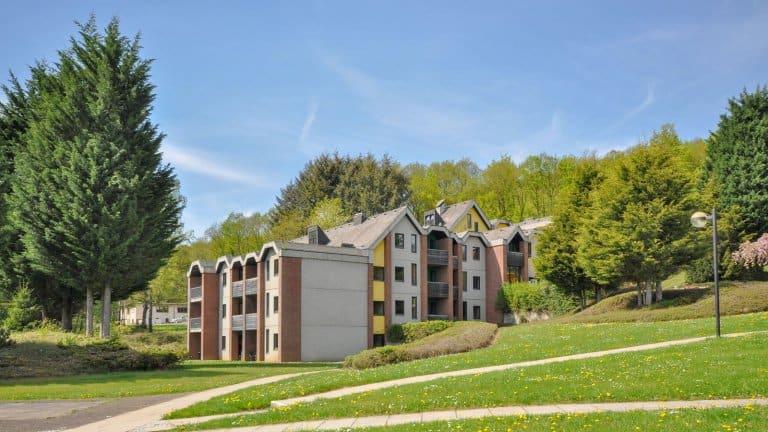 Appartementen van Vakantiepark Hambachtal in Oberhambach, Rijnland-Palts, Duitsland