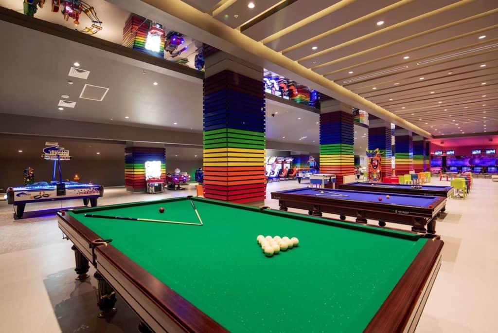 arcadehal van Titanic Deluxe in Belek, Turkije