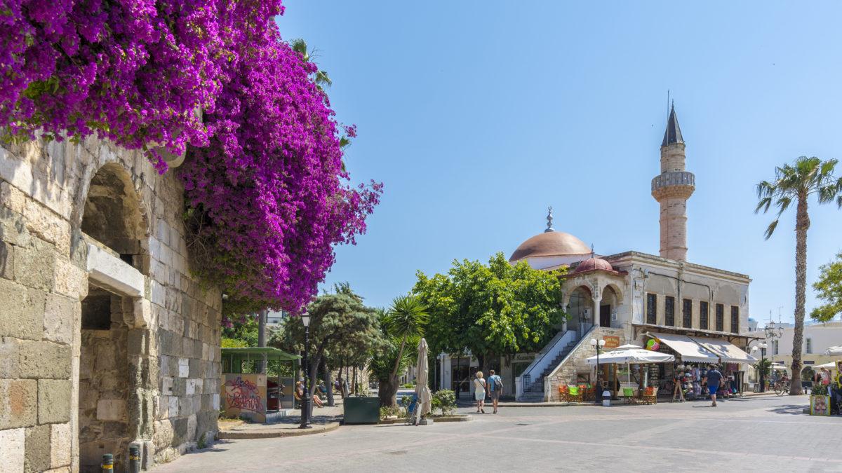 Kos-Stad in Griekenland