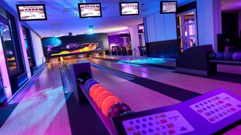 Bowlingbaan van Hotel het Wapen van Delden in Delden, Overijssel, Nederland