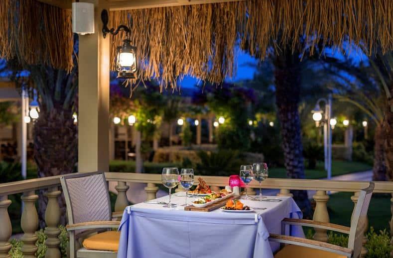 Diner van Royal Holiday Palace in antalya, Turkije