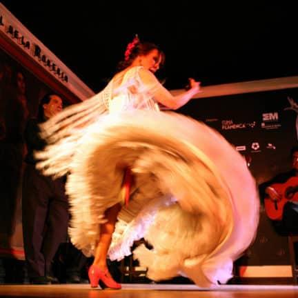 Flamencoshow bij Corral de la Morería in Madrid, Spanje