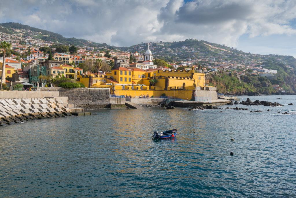 Het fort Fortaleza de São Tiago in Funchal op Madeira, Portugal
